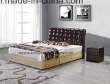 5star постучайте вниз кроватью гостиницы кожаный