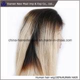 Бразильский парик человеческих волос фронта шнурка волос