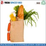 Bolsa de papel respetuosa del medio ambiente del alimento 2015 para las compras
