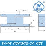 Dobradiça de porta industrial do armário da liga do zinco Yh9328