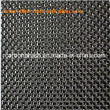 panno della fibra del carbonio con collegare d'argento o dorato 400X500mm