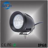 高品質LEDの自動車は3つのオフロード車のトラックUTV SUVのために証明されるインチ15Wの点の洪水LED作業ライトクリー族のLEDsによって装備されているセリウムRoHSをつける