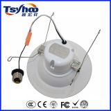 12W 5inch SMD LED abajo LED certificado UL ligero Downlight