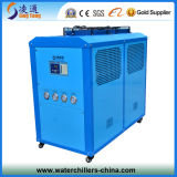 공기 Cooled Box Chiller 2ton에 Heat Exchanger Evaporator를 가진 20ton