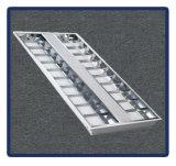 La luz del panel ahuecó la lámpara montada 1*40W/T8/1200*600 de la parrilla