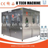 Máquina automática de engarrafamento de água para pet plástico