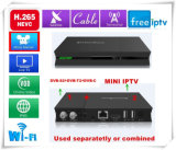 Приемник самой лучшей всегда коробки TV спутниковый с свободно IPTV/Cccam/Mbc искусствоа/HD