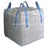 Sac en bloc de conteneur de tissu tissé par pp de FIBC 1 tonnes
