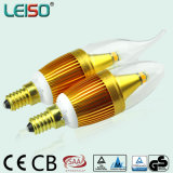 C35 LED Candle Light mit Golden Color Housing