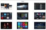 Cadre intelligent IPTV du Quarte-Faisceau en ligne TV de logiciel personnalisé de HD1080p TV