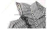 Falda de seda del `S de las mujeres de la tela escocesa del 100%