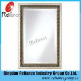 Espejo de aluminio de 5 mm / Espejo de plata Espejo de maquillaje / Espejo de baño / Espejo de Hotle