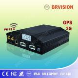WiFi機能のHDの可動装置4チャネル車DVR