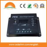 Controlador da potência solar da fora-Grade do preço de fábrica 12V 15A PWM