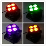 Controle Remoto 4X15W 6in1 Wash LED Moving Head Light