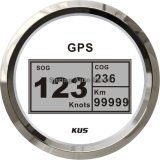 85mm Digital GPS Speedometer Velometer für Car Truck Boat (km/h, MPH, Knoten) mit Backlight