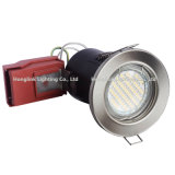 BS476 Fire Rated GU10 LED Recessed Downlight met New Red Junction Box