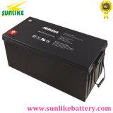 Batterie profonde solaire de gel du cycle 12V150ah pour la lumière Emergency