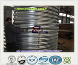 Материальная рифлёная стальная труба Q345