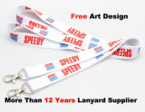 Identificación Card Holder Lanyard con Customer Logo Printing