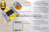 Luzes piscando Intelligent alumínio LED Solar Cat Eye Estrada Stud