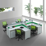 Glass Partition Screen (SZ-WST618)の新式のOffice Furniture Workstation