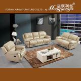 SOF superiore di svago del sofà del cuoio di grano