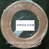 """5/16 """" di bobina molle del rame della bobina del pancake di temperamento del O.D. ASTM B280"""