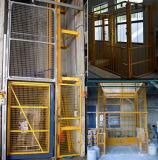 Plataforma vertical do elevador da mercadoria do trilho da ligação do controle Multi-Point Chain