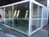 Sitio del envase modificado del bajo costo casa prefabricados/prefabricados de la sol/