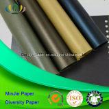 Papel de encargo de Pearlscent del uso del rectángulo del conjunto de la talla