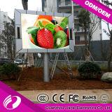 Sopra il segno locativo esterno della fase LED della visualizzazione P10 di 6500CD LED