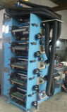 Machine d'impression de Flexo avec 5UV ou IR et station ou le recouvrement de fente