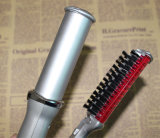 El mejor cepillo iónico de la buena calidad de la máquina del hierro que se encrespa del pelo del precio