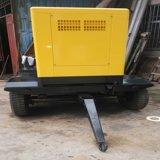 Generador diesel silencioso trifásico de 380V 20kVA con 4 el generador diesel portable de las ruedas 20kVA