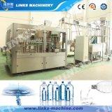 máquina de rellenar en botella automática del agua mineral 2000~30000bph 3 in-1/pura
