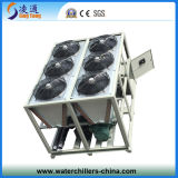 Refrigeratore della vite raffreddato aria industriale di prezzi del refrigeratore