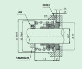 Guarnizione meccanica standard della singola molla (FBD)