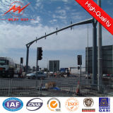 Q345 4m/6m Galvanized Traffic Light palo Signal Customization Available