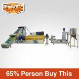 이용된 PP/PE/HDPE 플라스틱 Grnaulating 선