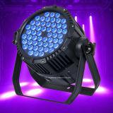 Im Freien wasserdichter 54X3w RGBW LED NENNWERT kann Licht waschen