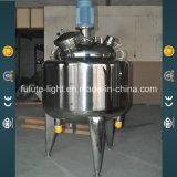 tanque de emulsão de creme cosmético do aço 3000L inoxidável