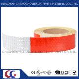 Красный и белый тип лента сота безопасности PVC отражательная (C3500-B (d))
