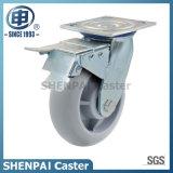 """rueda industrial rígida del echador de 6 """" TPR"""