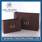 Kraftpapier Luxury Paper Bag mit Golden Foil Stamping (CMG-MAY-015)