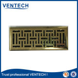 Qualitäts-Marken-Produkt Ventech Eisen-Stahlblech-Fußboden-Register-Luft-Gitter