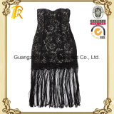 Robe de lacet de dames de vêtements de mode de femmes