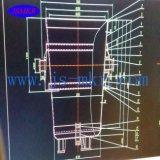 Fornace di fusione per media frequenza d'acciaio utilizzata