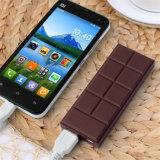Batería portable vendedora caliente de la potencia del chocolate lindo para el teléfono elegante