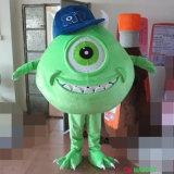 Traje quente da mascote do caráter de Mike de 2016 personagens de banda desenhada da venda